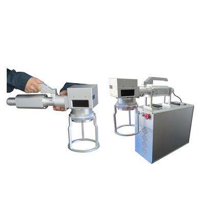 Hand-hold Fiber Laser Marking Machine