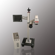 Stand Pillar Fiber Laser Marking Machine